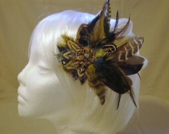 Down To Earth Feather Hair Piece