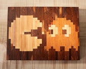 PACMAN end grain cutting board