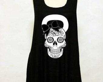 Sugar skull- Workout shirt