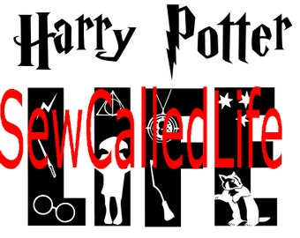 Harry Potter Life- Hufflepuff - Harry Potter inspired SVG for shirts or decals