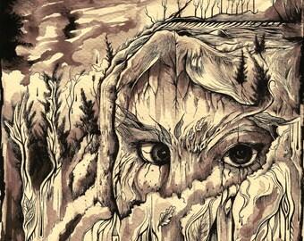 Seeing eyes Plains Cree ~ 'Wapiwin'