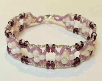 Fairy Dust Braceleg in Purple