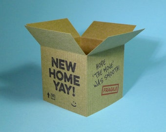 New Home - 3D Greetings Card
