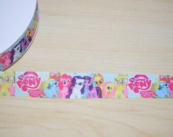 My little Pony Grosgrain Ribbon, 7/8 wide Grosgrain Ribbon,