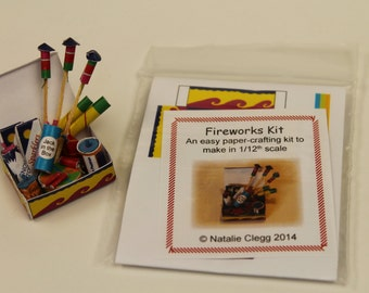 1/12th Scale Miniature Fireworks Kit