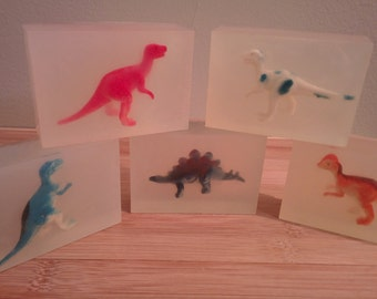 Kid's Dinosaur Soap (3 pack)