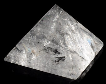 Rock crystal pyramid, approx. 60 x 60 mm