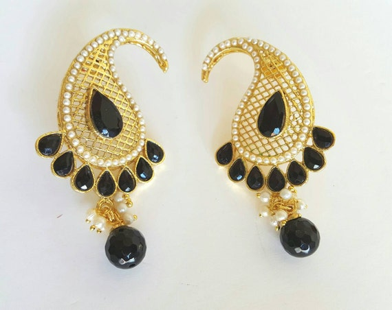 SALE 40% OFF Mango Earrings   | Indian Jewelry | Indian Earrings | South Indian Jewelry