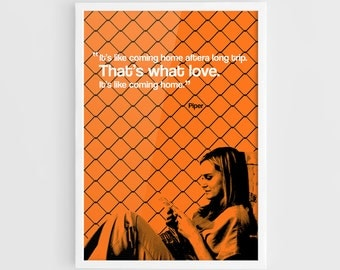 Piper Chapman Orange Is the New Black TV Series Movie Poster (Orange Is the New Black Poster, Netflix) - A3 Wall Art Print Typography Poster