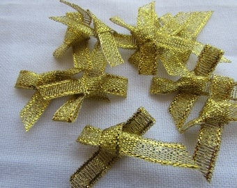 Gold Bows
