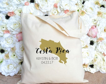 Costa Rica - Personalized Destination Wedding Welcome Bag