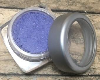 Periwinkle Eyeshadow, Mineral Makeup, Vegan Eyeshadow, Pressed Eyeshadow, 1.5 grams