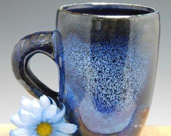 277 - Mug, Coffee Cup, Tea Cup, Wheel Thrown Stoneware, 15 oz.