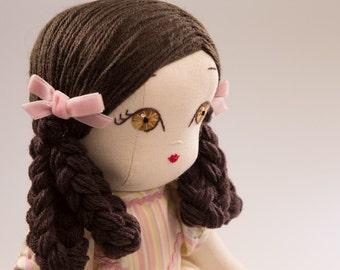 Juliet - Handmade Cloth Doll