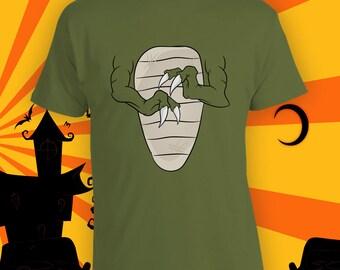 Funny T-rex Arms Halloween Costume Shirt - Tyrannosaurus Costume, Fun Kids Halloween Party Shirt, Dinosaur Cosplay Shirt, Dino Shirt CT-744