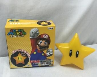 Nintendo Super Mario Sound & Light Star