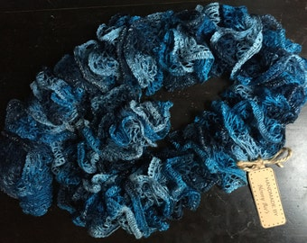 Knit Ruffle Scarf