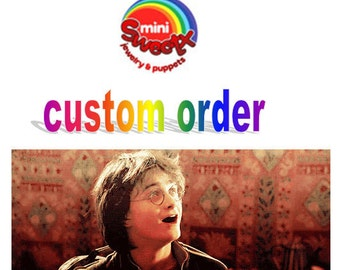 Miniature Harry potter custom order