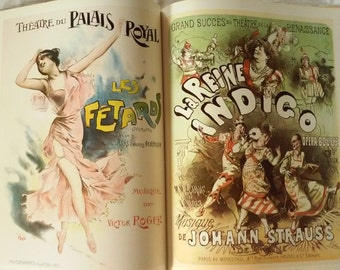 1976 French Opera posters 1868-1930 by Lucy Broido ~~ 53 Posters ~ 32 In COLOR !