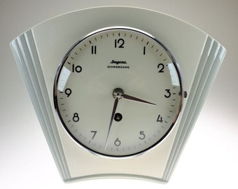Clock Kitchen Clock Dugena Schwebegang Kitchen Clock Wall Clock Ceramic