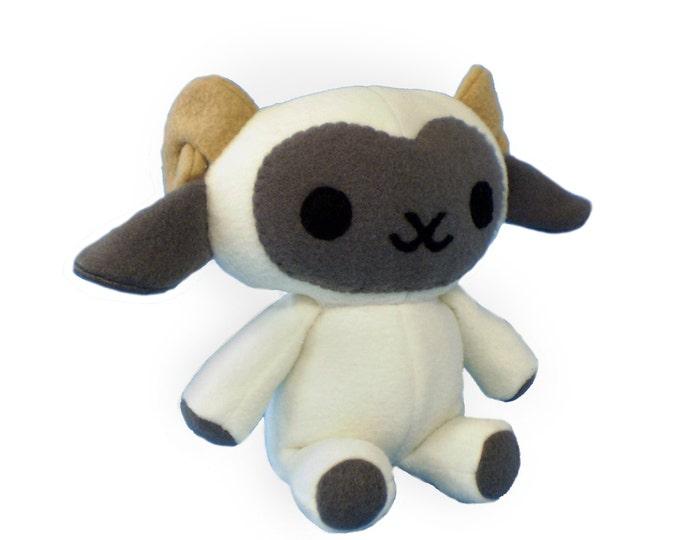 Lamb Plush Toy Pattern