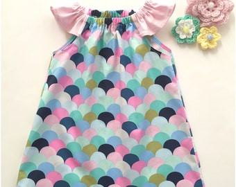 Baby Girl Handmade Dress, Size 1