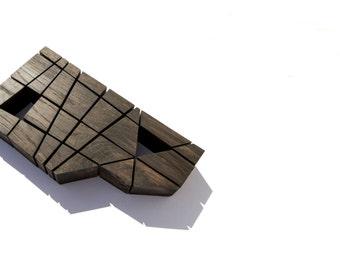 P Z L 2 8-  solid oak puzzle, artwork