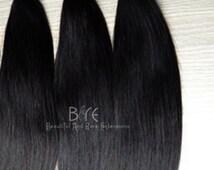 100% Unprocessed Virgin Hair Extensions/Hair Bundles/Virgin Hair/ Three Bundle Deals-Deluxe Straight Texture