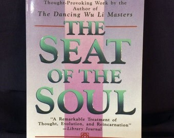 The Seat of the Soul Dancing Wu Li Masters by Gary Zukav 1990 Vintage First Edition Paperback