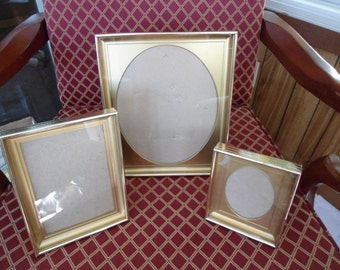 Vintage Set of Shadow Box Frames