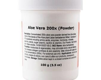Aloe Vera Powder (200x)
