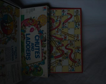 Vintage Chutes and Ladders Board Game 1979
