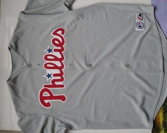 throwback philadelphia phillis jersey baseball Ryan Howard away jersey