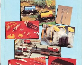 c. 1980 German Herkat Modellbahn-Zubehor Model Train parts catalog