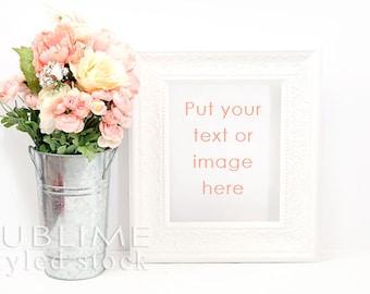 Styled Stock Photography / Blank Frame / Mockup / Styled Image / Empty Frame / Frame MockUp / Frame Background / StockStyle-749
