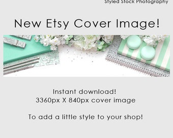 Etsy Cover Photo / Etsy Cover Image / Premade Etsy Banner / Premade Cover Photo / Shop Banner / Cover Image / Stock Photo / Style-118
