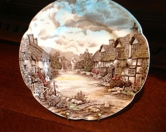 Johnson Brothers Dinner Plate, Olde English Countryside, Made in England