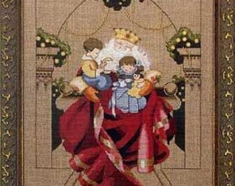 Christmas Wishes Counted Cross Stitch Chart Pattern Mirabilia Designs Nora Corbett MD61
