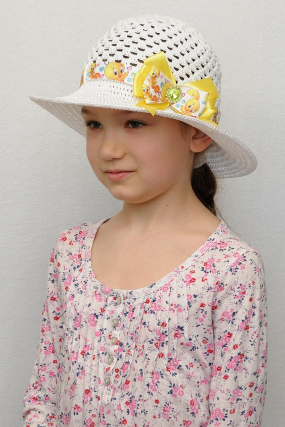 Girls Hats Crochet Hat Easter Outfits for Girls Summer Hat