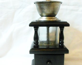 Unique glass coffee grinder related items Etsy