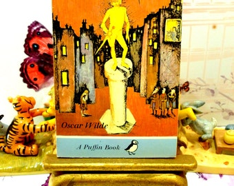 The Happy Prince and other Stories Classic Childrens Book Vintage Puffin Book Paperback 1970s