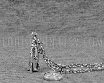RocketShip Necklace -Spaceship Pendant - Astronaut Necklace -Science Jewelry -Rocket Necklace -Spacecraft  Necklace -Initial Charm Necklace