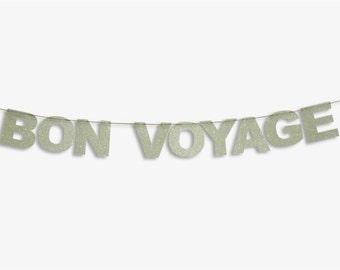 BON VOYAGE Banner, Bon Voyage Garland