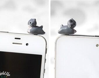 Cat Phone Charm Dust Plug iPhone