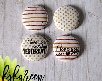 """Badge 1 """"- More Than Yesterday"""