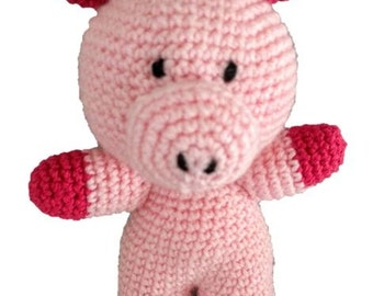 Piggy the Pig - Crochet Pattern (PDF)