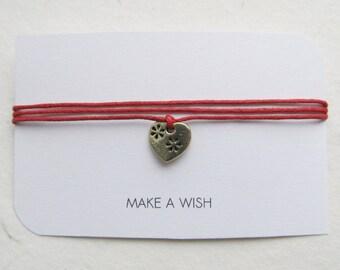 Wish bracelet, make a wish bracelet, love bracelet, friendship bracelet
