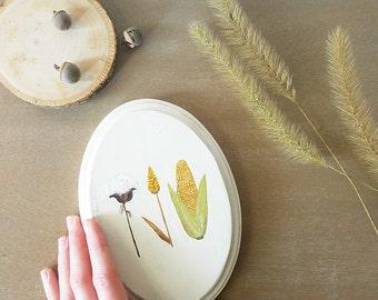 Harvest Decor Sign, Seasonal Fall Decorations, Autumn Wood Sign, Minimalist Wall Art, Farmhouse Decor, Rustic Wood Plaque, Nature Lover Gift