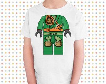 Lego Ninjago Lloyd on your t-shirt