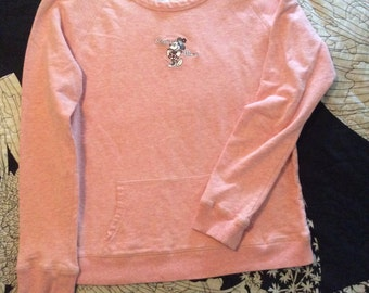 Classic Minnie Mouse Pink Pullover
